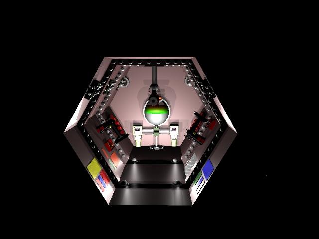 Dark-Phoenix: Main Computer Room (1) by Darth-Drago
