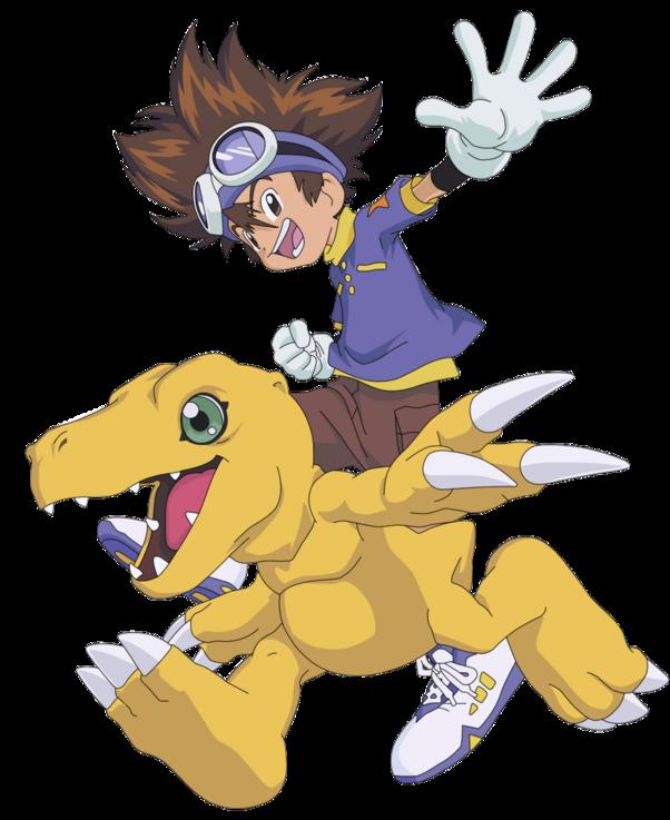 Tai Agumon by Darth-Drago