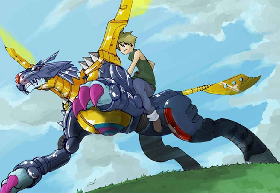 MetalGarurumon by Darth-Drago