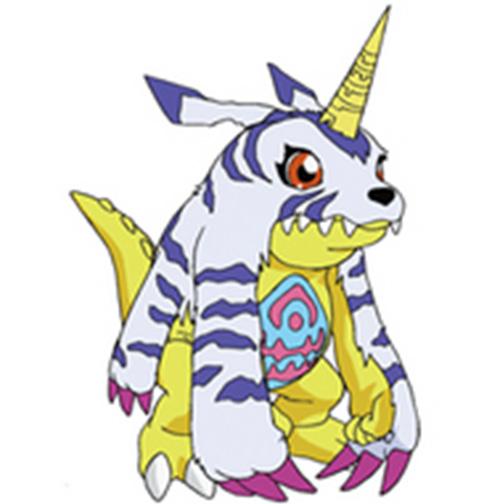 Gabumon by Darth-Drago