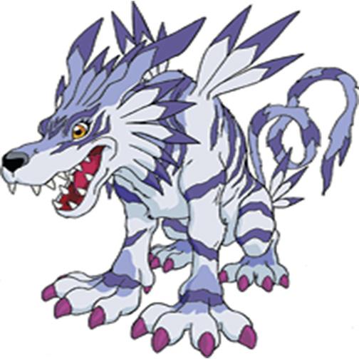 Garurumon by Darth-Drago