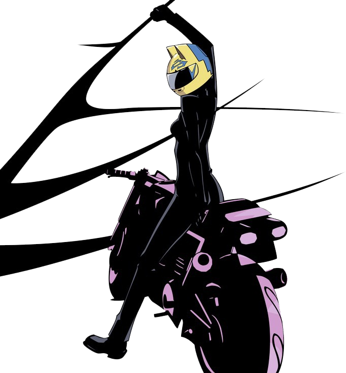 Celty and shooter by Darth-Drago