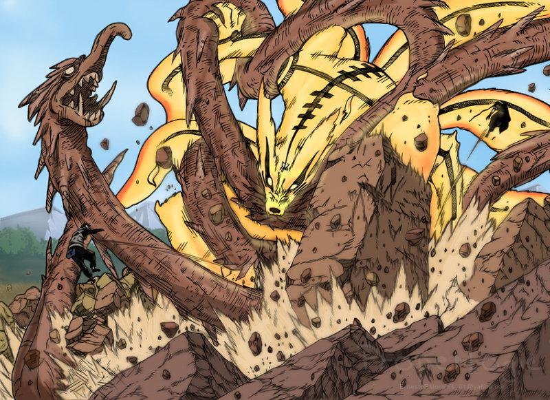 Madara's Wood Dragon by Darth-Drago