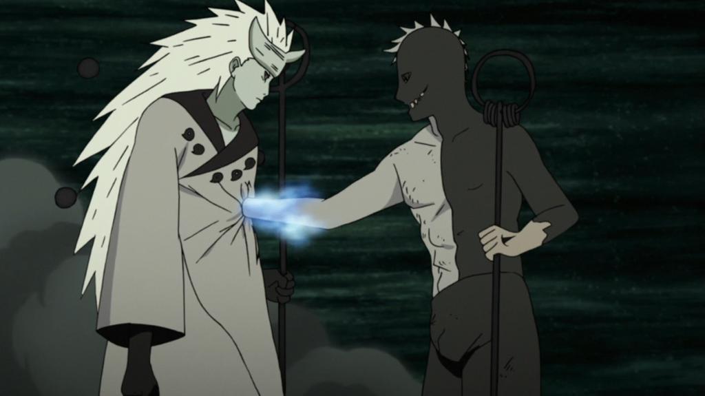 Obito Stealing Chakra by Darth-Drago