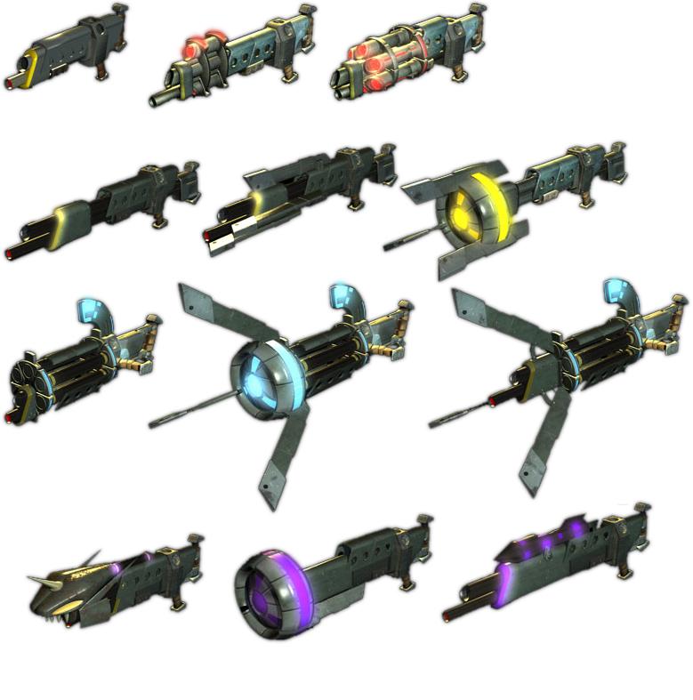 Jak and Daxter Morph Guns by Darth-Drago