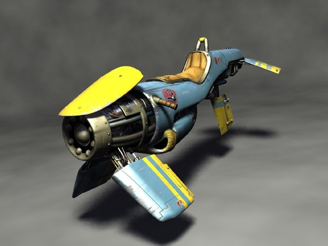 Zoomer single-seater render 1 by Darth-Drago