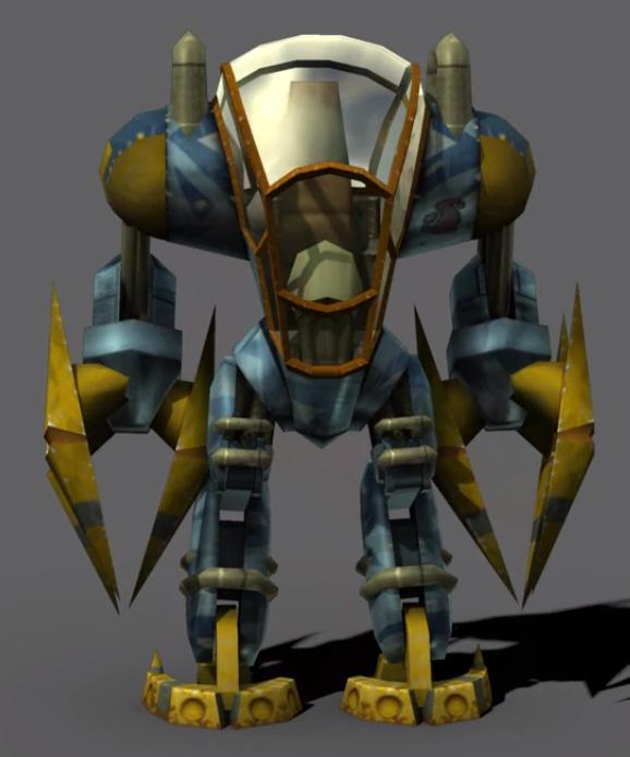 Titan Suit render by Darth-Drago