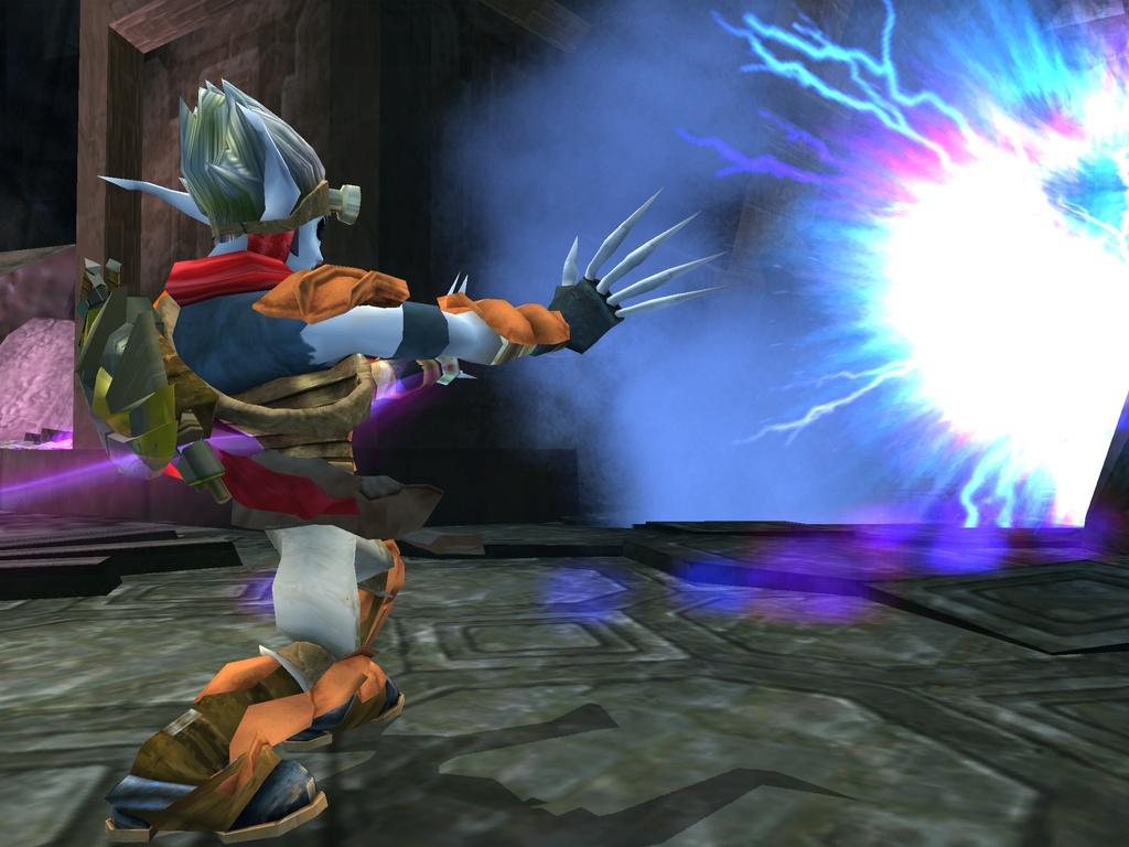 Dark Jak using Dark Strike by Darth-Drago