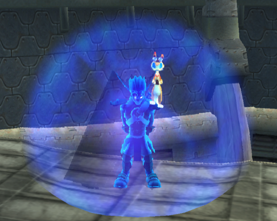 Light Jak using Light Shield by Darth-Drago