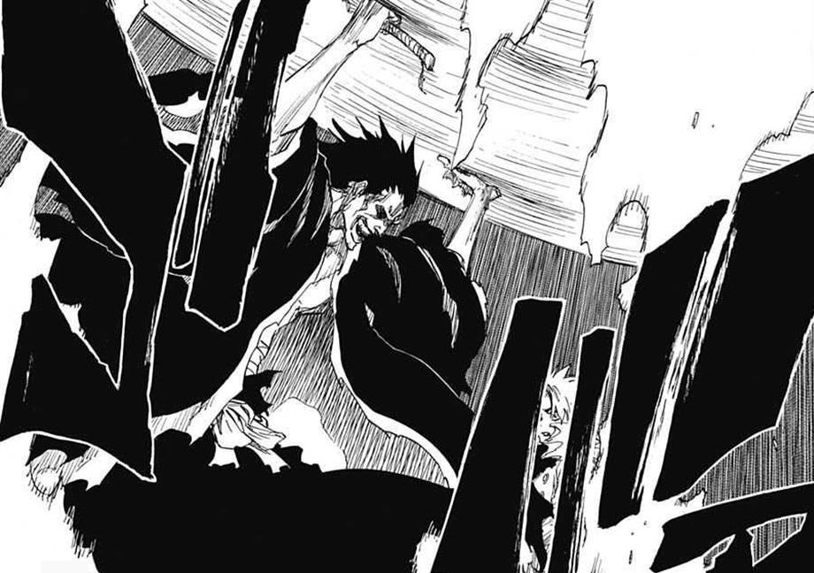 667Kenpachi withstands by Darth-Drago