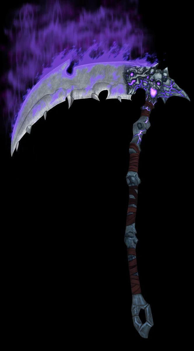 Darksiders wrath of war scythe by dotafss-d58adq9 by Darth-Drago