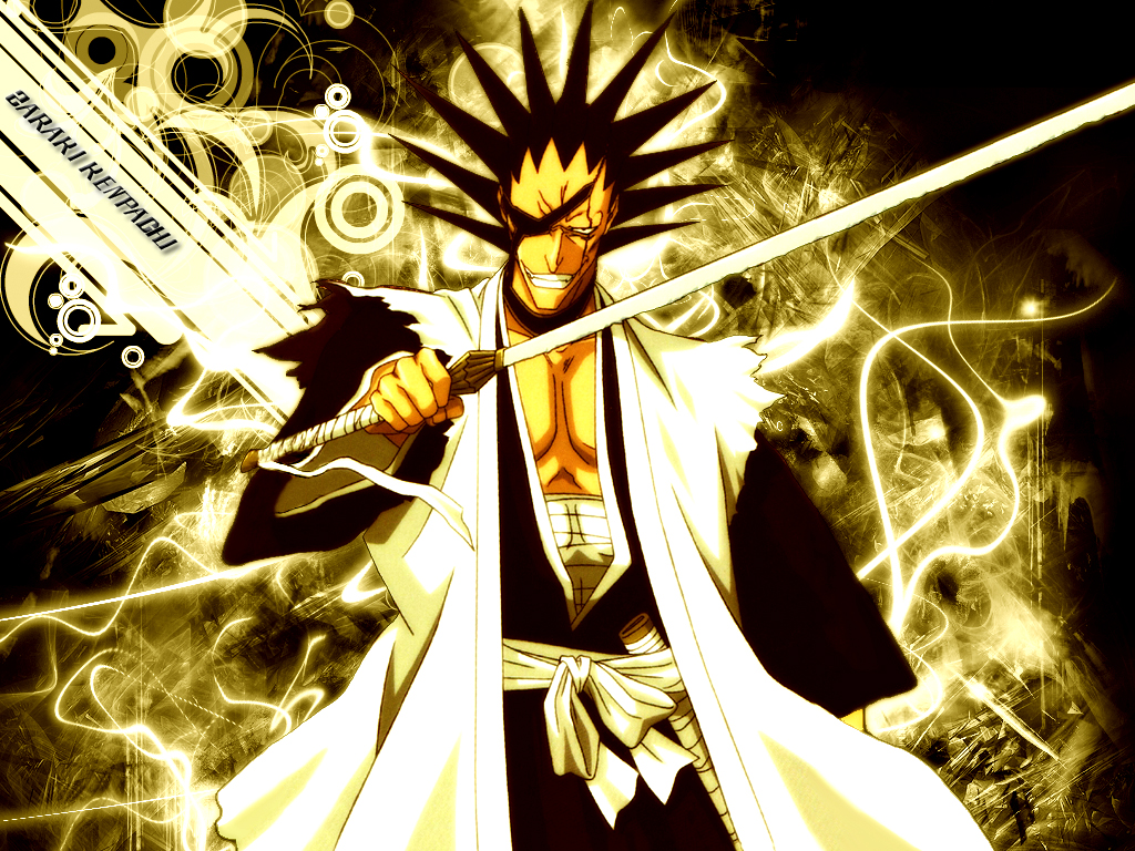 Zaraki Kenpachi By Majin Vegetto by Darth-Drago