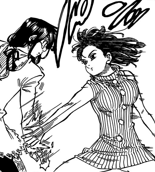 Gowther vs  Diane by Darth-Drago