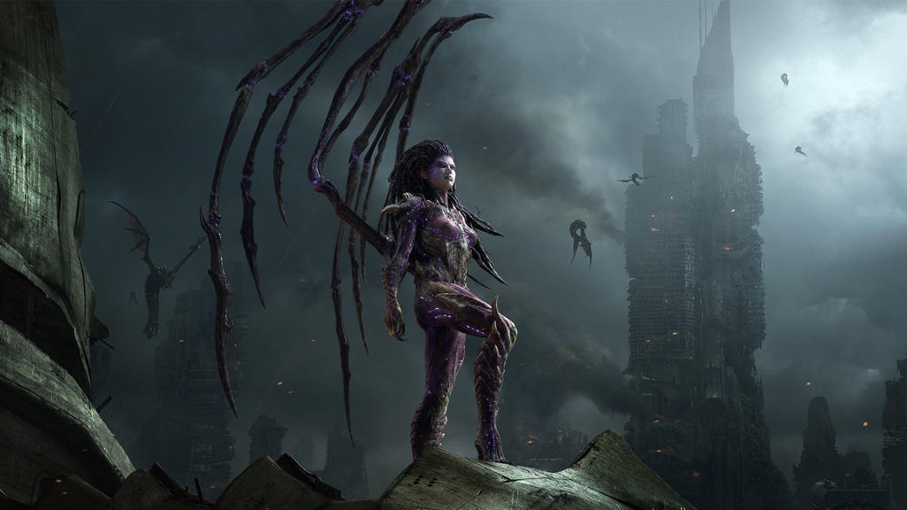 Starcraft-fantasy-art-queen-of-blades-starcraft-ii by Darth-Drago