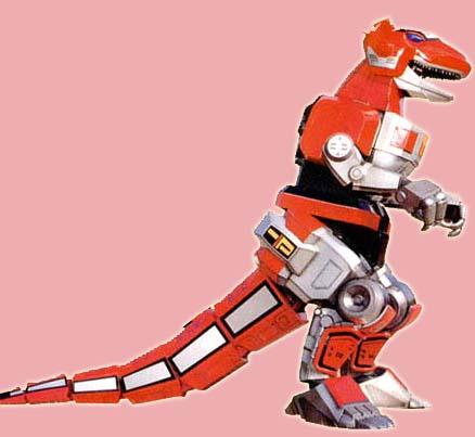 MMPR Tyrannosarus Dinozord1 by Darth-Drago