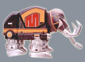 MMPR Mastadon by Darth-Drago