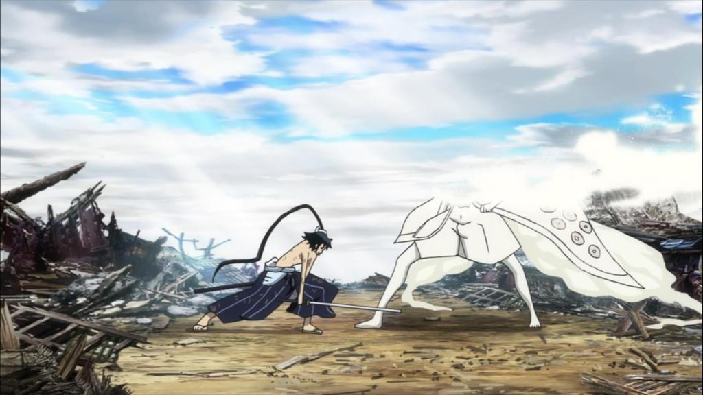 Jinbei finish Sanada by Darth-Drago