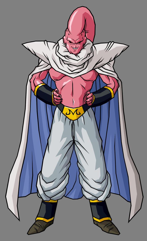 Super Buu   Piccolo Absorbed By Hsvhrt-d59e1sn by Darth-Drago