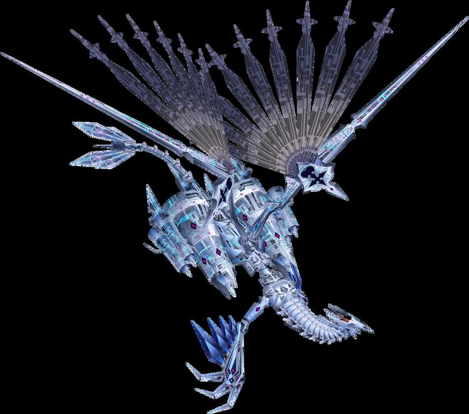 Xemnas (Dragon) 2nd Fight KHII by Darth-Drago