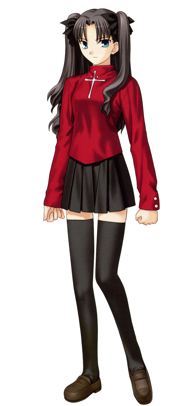 Tohsaka rin by Darth-Drago