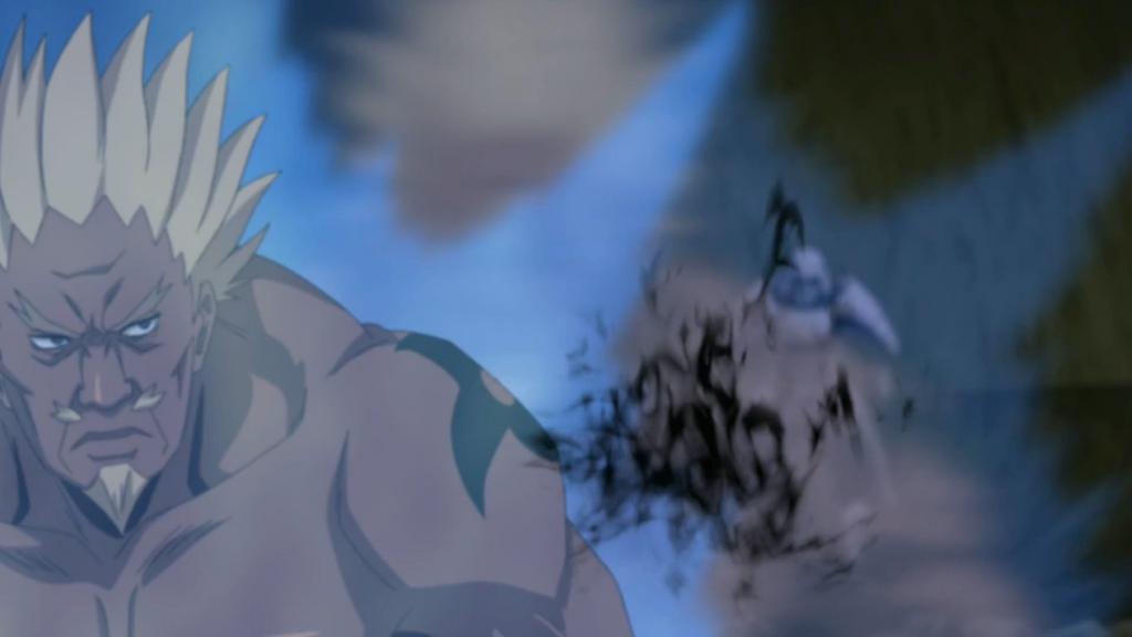 A dodges Amaterasu by Darth-Drago