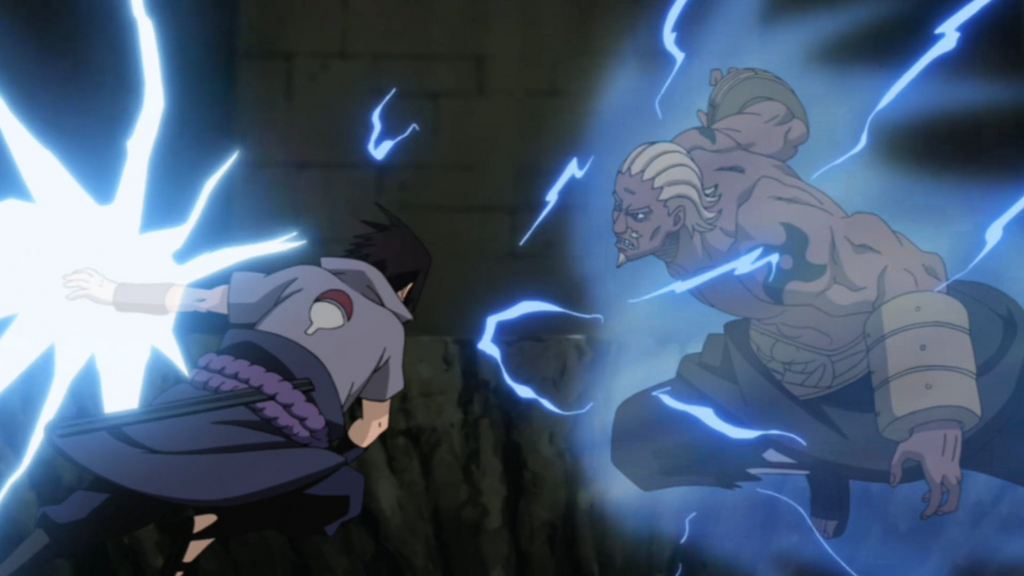 Sasuke vs A by Darth-Drago