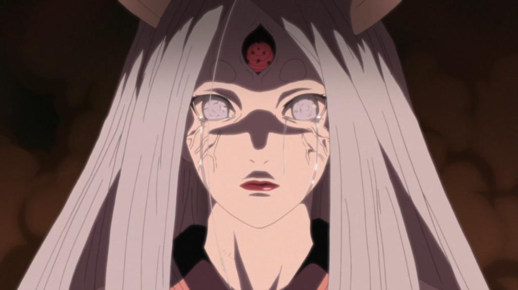 Kaguya crying by Darth-Drago