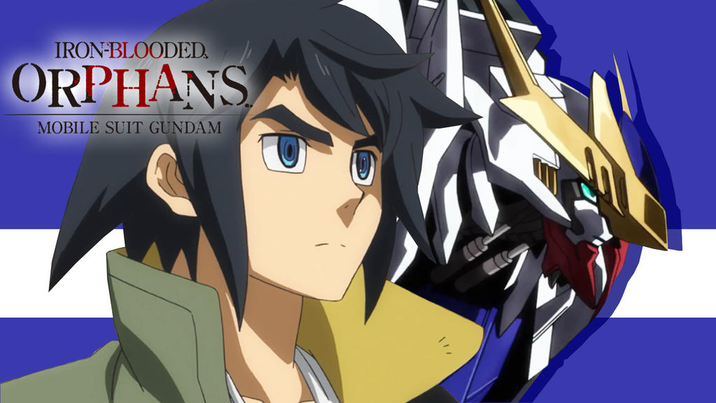 Mikazuki-Augus-Anime-Gundam-Iron-Blooded-Orphans-W by Darth-Drago