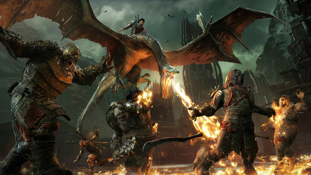 middle earth Shadow of war screen3 by Darth-Drago