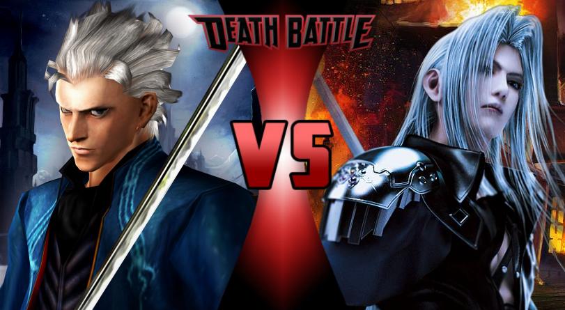 Vergil VS Sephiroth by Darth-Drago