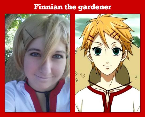 Finnian the gardener by ZoeyJayne