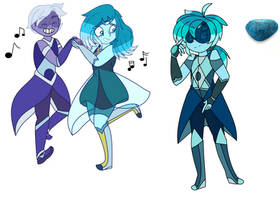 Cabochon Apatite :Steven Universe Fan Fusion: by Crystal-Junkie-GSV