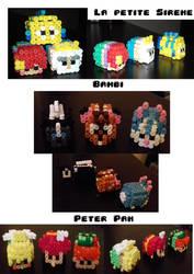 Creations Perles Hama 3d (partie 2)