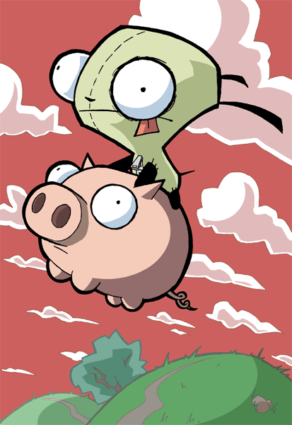 invader zim wallpaper. Interests: Invader Zim