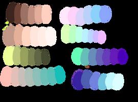 Free Random Palettes by GreaserDemonDesign