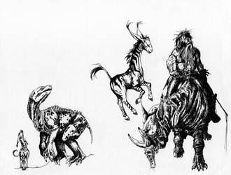 creatures by MikhailD