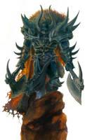 Chaos Warrior by MikhailD