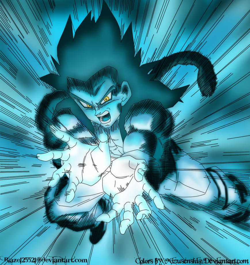 Super Saiyan 4 Gohan By ConnerKonEl On DeviantArt