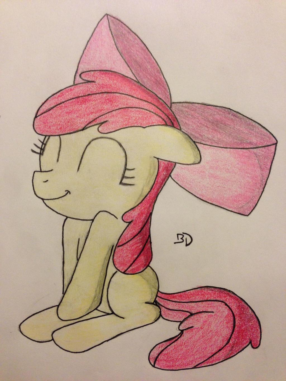Applebloom, Being Adorable by Bobdude0 on DeviantArt