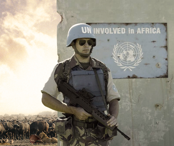 Uninvolved in Africa by gencebay55