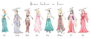 Women fashion in Essos