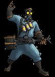 TF2 - BLU Pyro