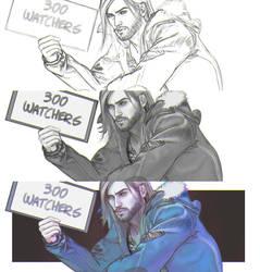 300  watchers !!!
