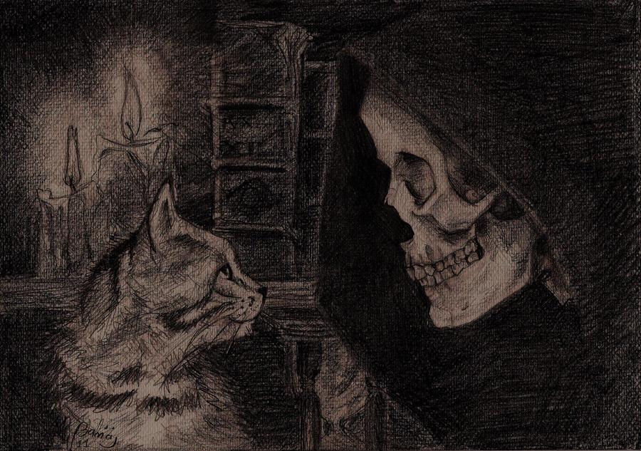 http://img11.deviantart.net/ca2e/i/2011/190/9/4/death_with_kitten___discworld_by_wichrzyciel-d3lit1x.jpg