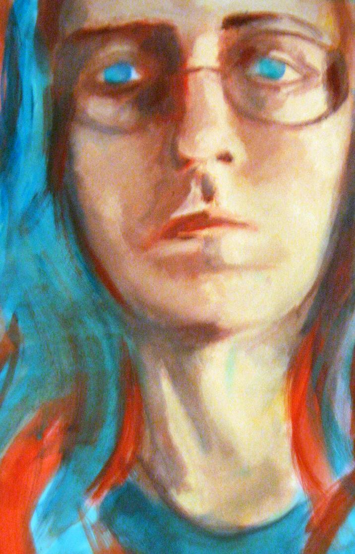 self-portrait by Wichrzyciel