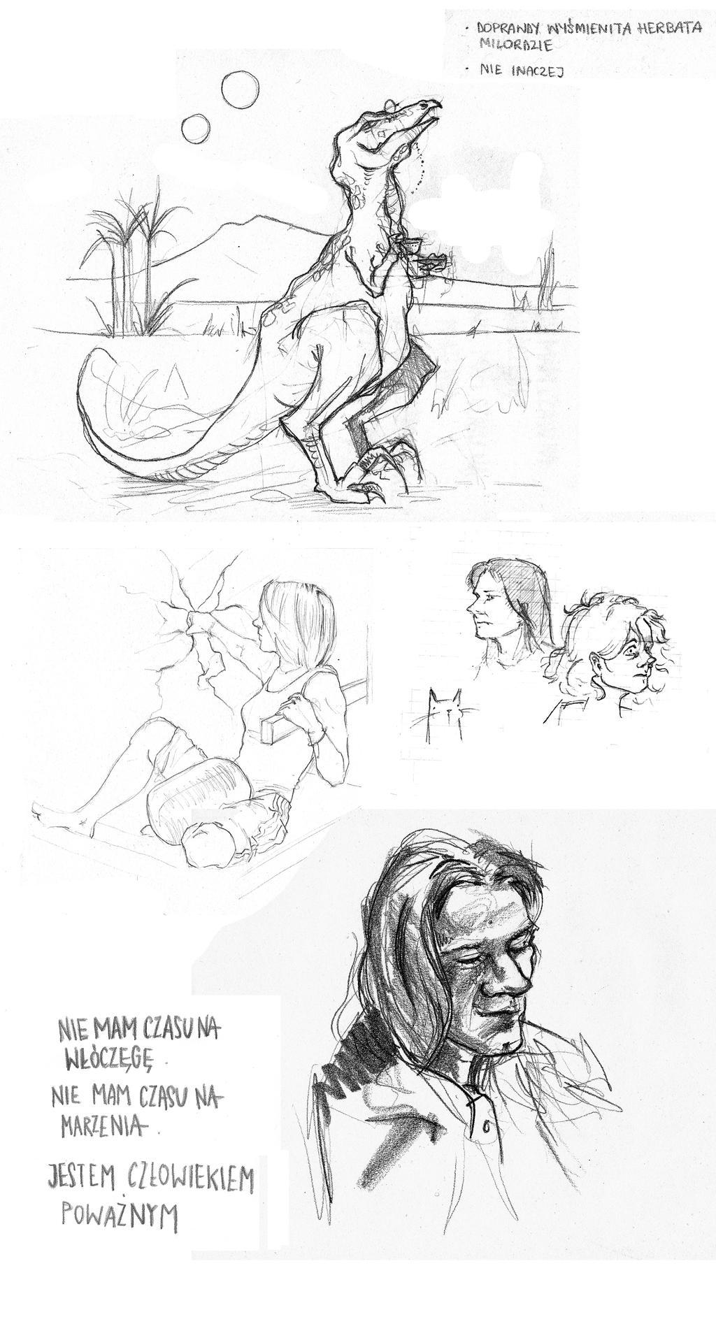 Sketch Dump by Wichrzyciel