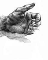 hand drawing by Wichrzyciel