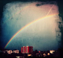 rainbow by blue-a