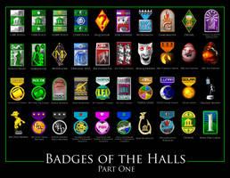 Badges of the Halls Part I by Slovman