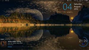 Moon Lake Reflections